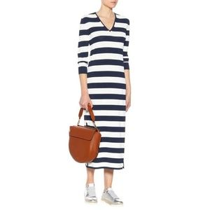 'S MAX MARA Striped Colomba Dress Nautical Yacht